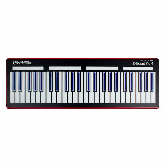 KEITH McMILLEN - Keith McMillen K Board Pro 4 Expressive Smart Sensor USB MIDI Keyboard Controller