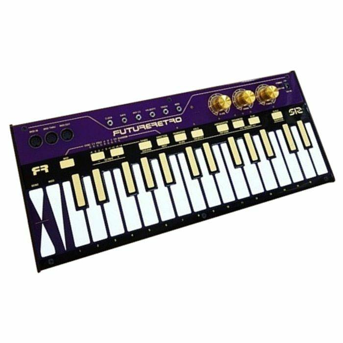 FUTURE RETRO - Future Retro 512 Capacitive Touch Keyboard Arpeggiator Sequencer & MIDI CV Converter (limited edition purple/white/gold)