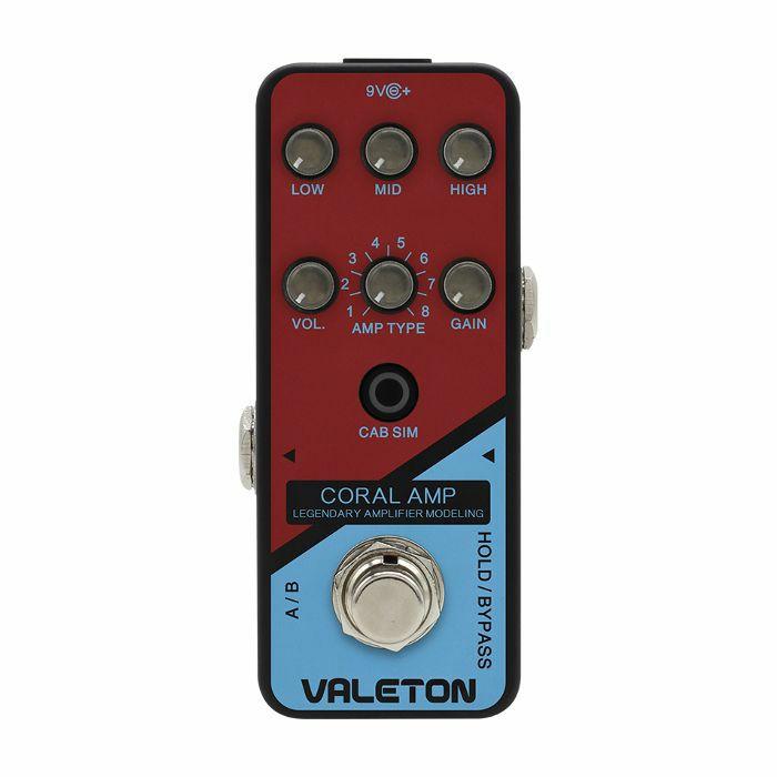 VALETON - Valeton CRL5 Coral Amp Legendary Amplifier Modelling Pedal