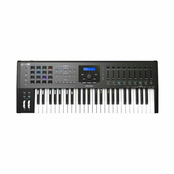 ARTURIA - Arturia Keylab MkII 49 Key USB MIDI Controller Keyboard (black) ***ART OF KEYS PROMO - INCLUDES FREE SOFTWARE INSTRUMENTS*** (B-STOCK)