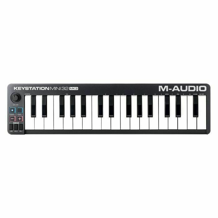 M AUDIO - M Audio Keystation Mini 32 Mk3 USB MIDI Keyboard Controller (B-STOCK)