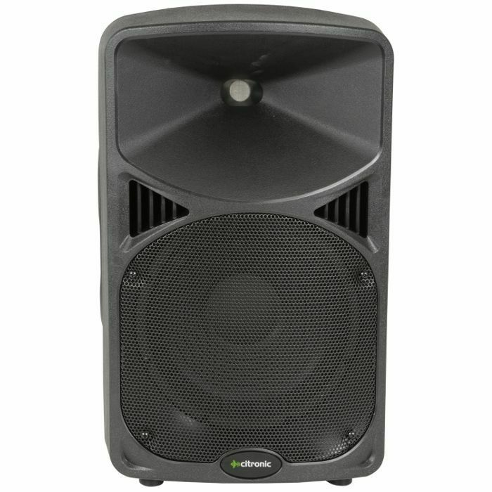 CITRONIC - Citronic CD10A Active PA Speakers (pair)