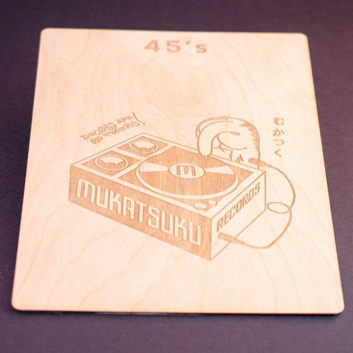 MUKATSUKU - Mukatsuku Laser Etched Wooden 7