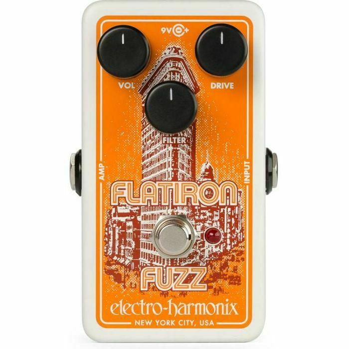 ELECTRO HARMONIX - Electro Harmonix Flatiron Fuzz & Distortion Pedal (B-STOCK)