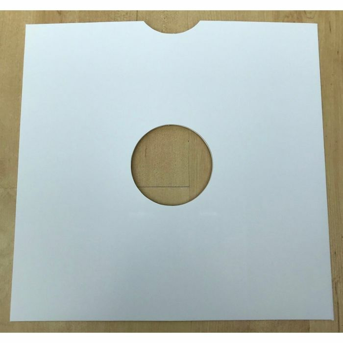 """SOUNDS WHOLESALE - Sounds Wholesale 10"""" White Card Masterbag Replacement Vinyl Record Sleeves (pack of 10)"""