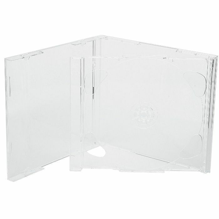 SOUNDS WHOLESALE - Sounds Wholesale Double CD Case With Clear Insert Tray (single)