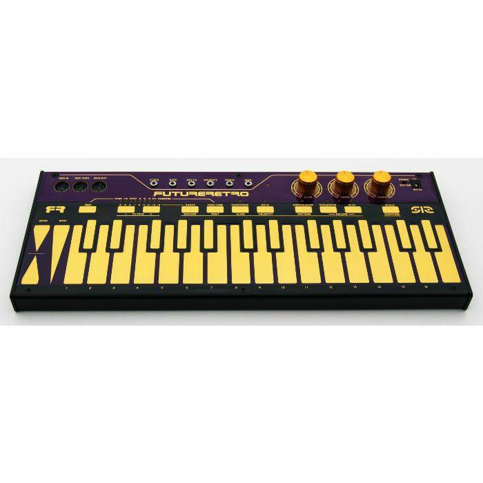 FUTURE RETRO - Future Retro 512 Capacitive Touch Keyboard Arpeggiator Sequencer & MIDI CV Converter (purple/black/gold) (B-STOCK)
