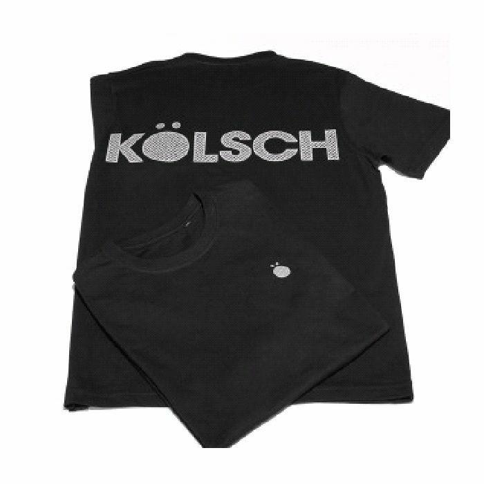 KOLSCH - Kolsch Logo T Shirt (black with print, large)