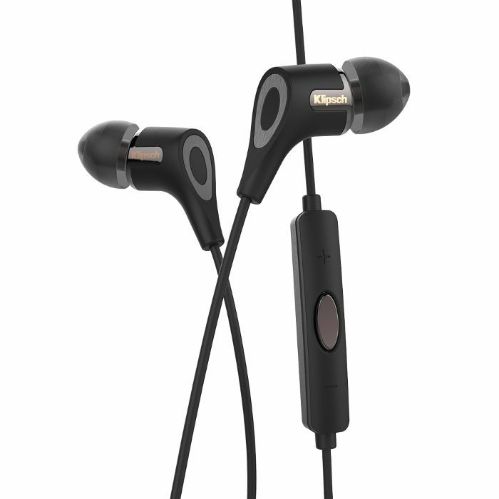 KLIPSCH - Klipsch R6i II In Ear Headphones With 3 Button Remote & Microphone For iOS Devices (black)