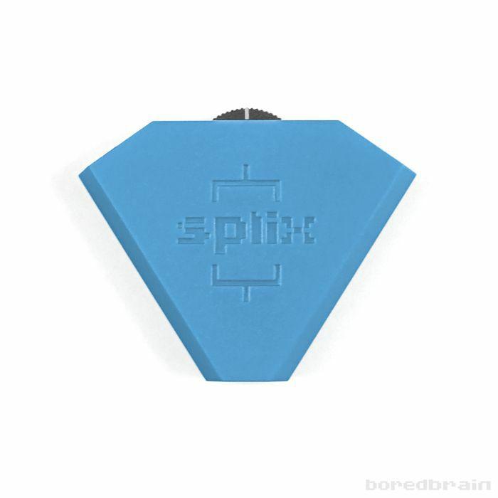 BOREDBRAIN - Boredbrain Splix 3.5mm Inline Splitter Mixer (quantum blue)