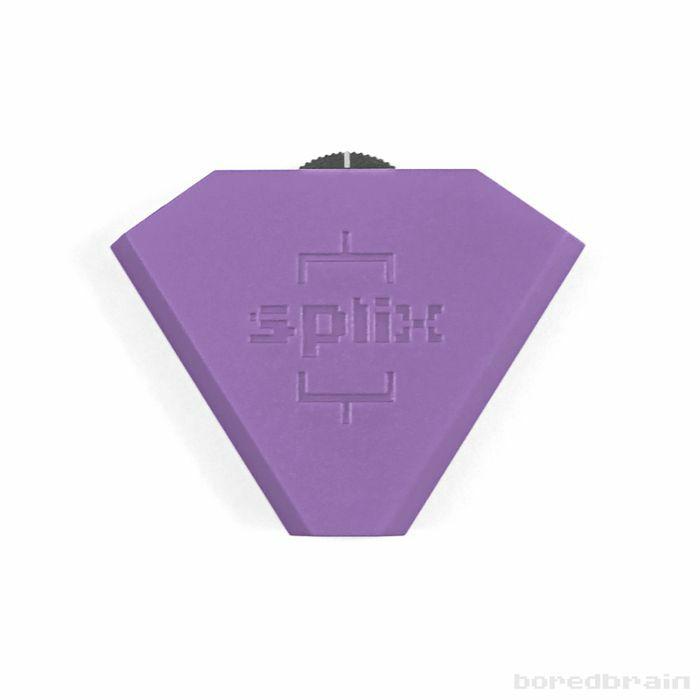 BOREDBRAIN - Boredbrain Splix 3.5mm Inline Splitter Mixer (amethyst purple)