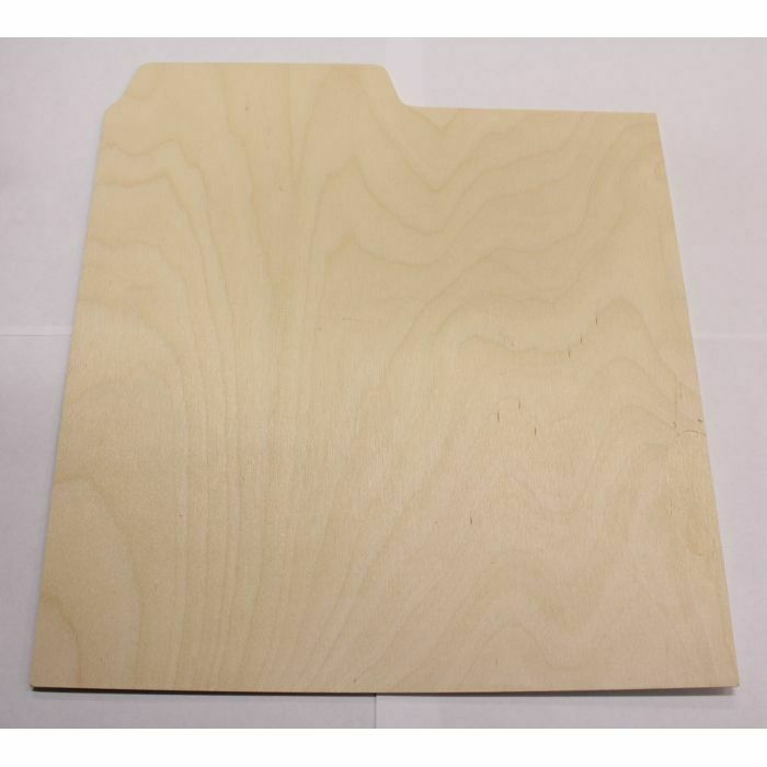 "MUKATSUKU - Mukatsuku Unbranded Wooden 12"" Vinyl Record Divider With Index Lip *Juno Exclusive*"
