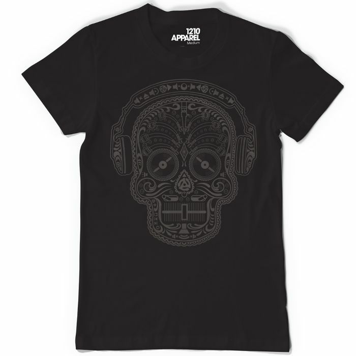 DMC - DMC Skull & Phones T Shirt (black, extra large)
