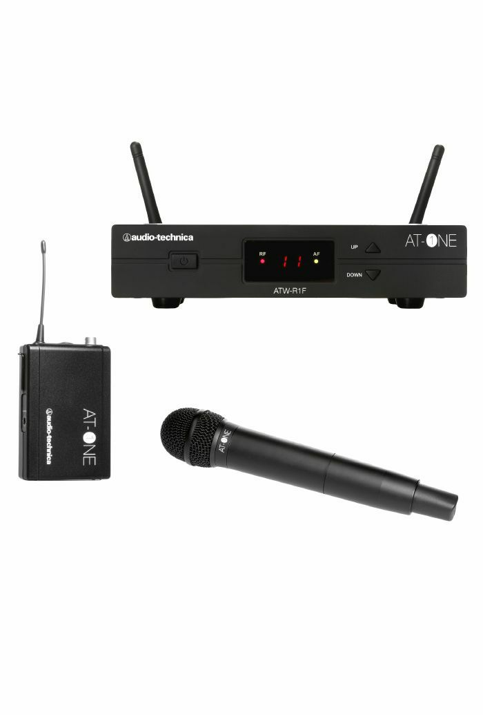 AUDIO TECHNICA - Audio Technica ATW13F AT One Wireless Handheld Transmitter System (B-STOCK)