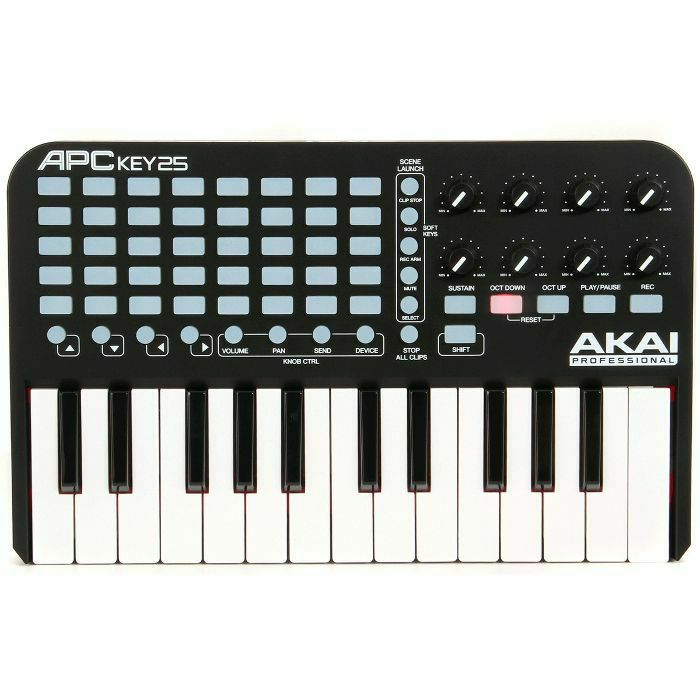 AKAI - Akai APC Key 25 USB Ableton Live Keyboard Controller With Ableton Live Lite Software (B-STOCK)