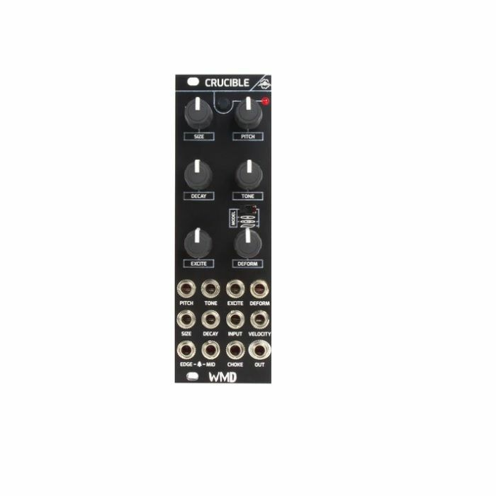 WMD - WMD Crucible Curved Plate & Cymbal Synthesiser Module