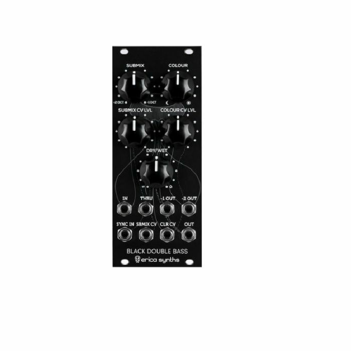 ERICA SYNTHS - Erica Synths Black Double Bass Module