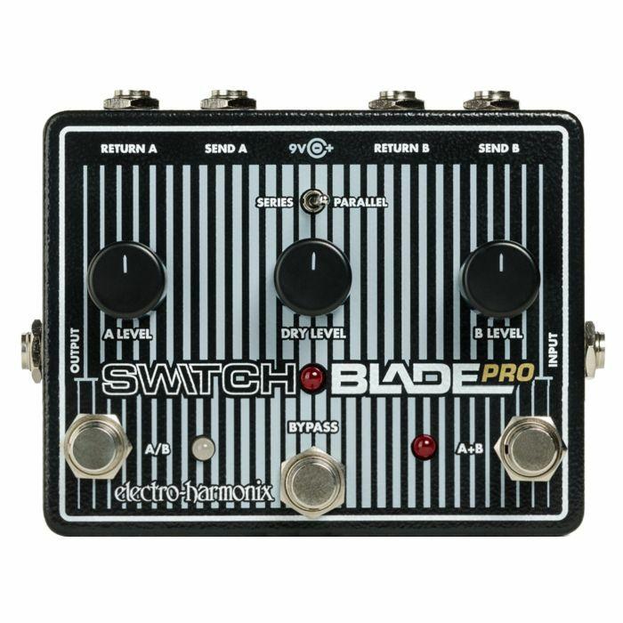 ELECTRO HARMONIX - Electro Harmonix Switchblade Pro Deluxe Switcher Pedal