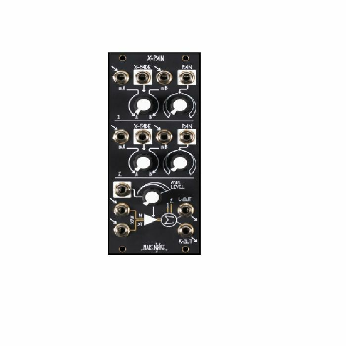 MAKE NOISE - Make Noise X Pan 5 Channel Voltage Controlled Crossfader, Panner & Stereo Mixer Module