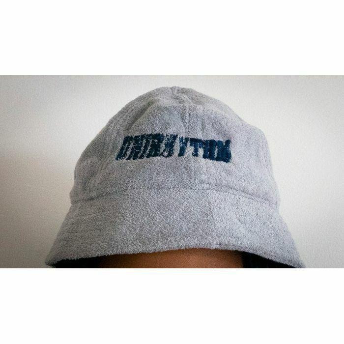 UNIRHYTHM - Unirhythm Bucket Hat (grey with blue logo)