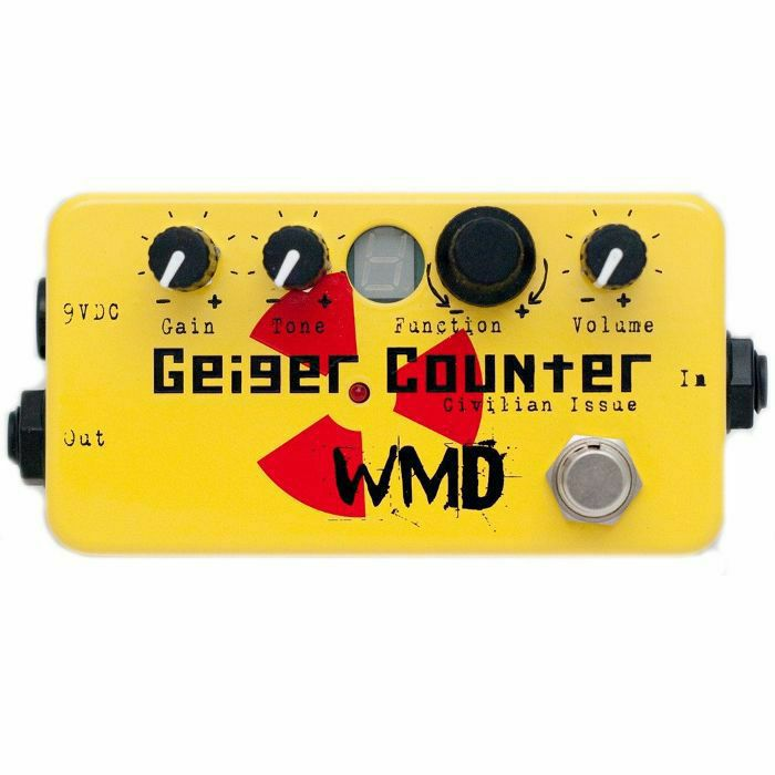 WMD - WMD Geiger Counter Civilian Issue Distortion Pedal (B-STOCK)