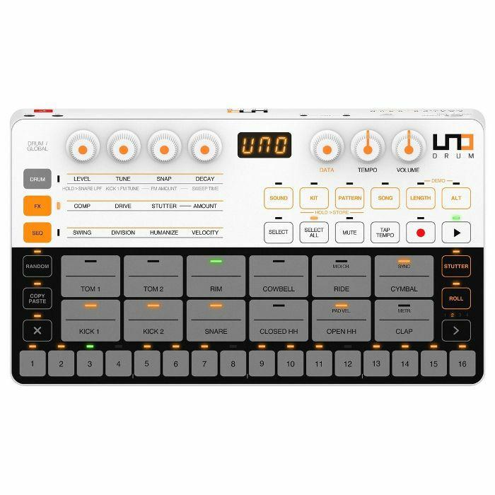 IK MULTIMEDIA - IK Multimedia Uno Drum Analogue & PCM Drum Machine