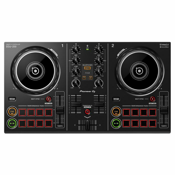 PIONEER - Pioneer DDJ200 Smart Wireless DJ Controller