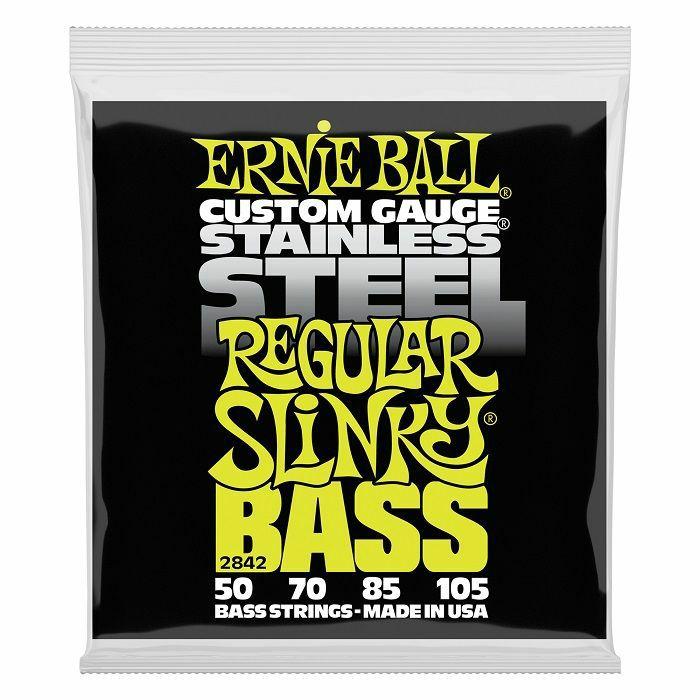ERNIE BALL - Ernie Ball Stainless Steel Regular Bass Strings