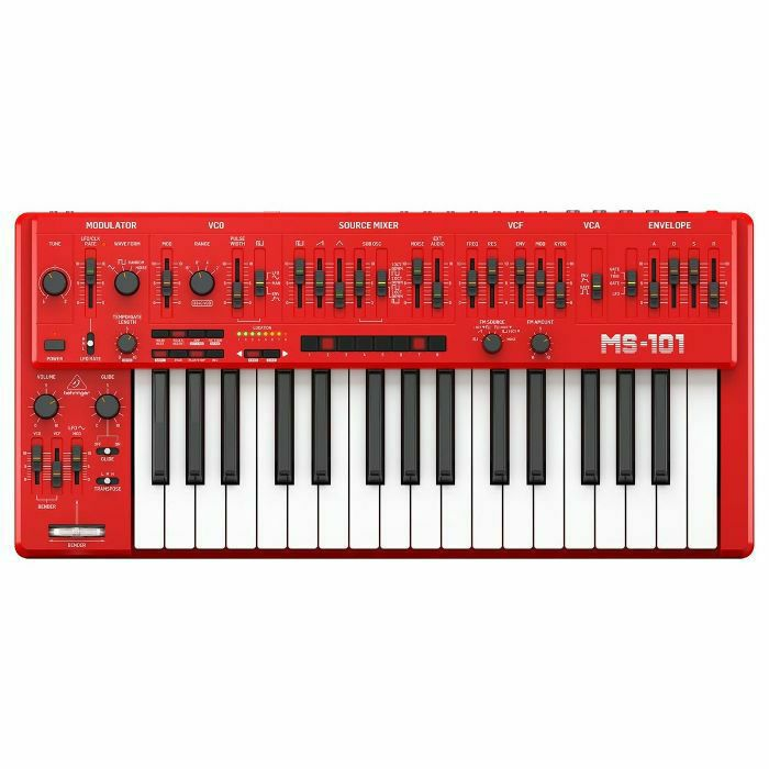 BEHRINGER - Behringer MS101 Analogue Synthesiser (red) (B-STOCK)