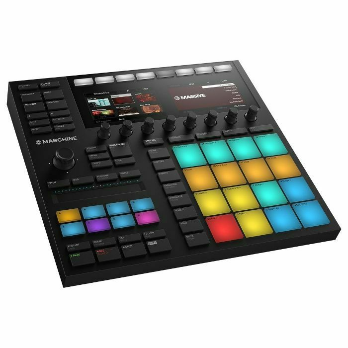 Native Instruments Maschine MK3 Music Production & Performance Instrument +  Native Instruments Komplete 12 Ultimate Upgrade Software (upgrade from