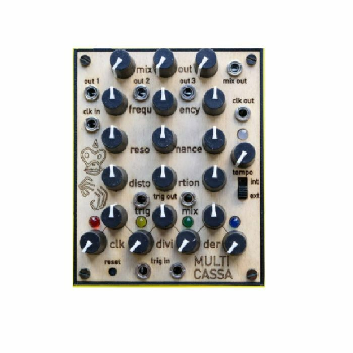 LEP - LEP Multicassa Analogue Drum Machine Module With Clock Divider Sequencer (B-STOCK)