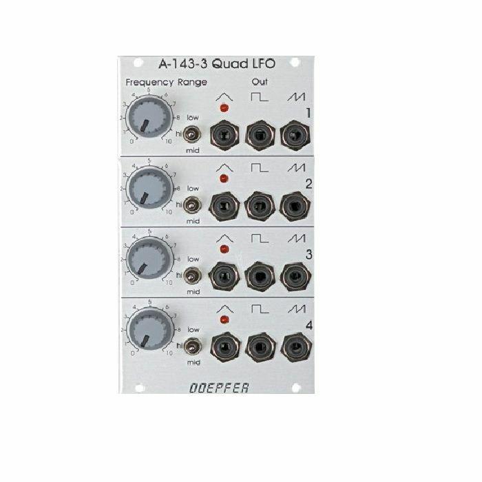DOEPFER - Doepfer A-143-3 Quad LFO Module