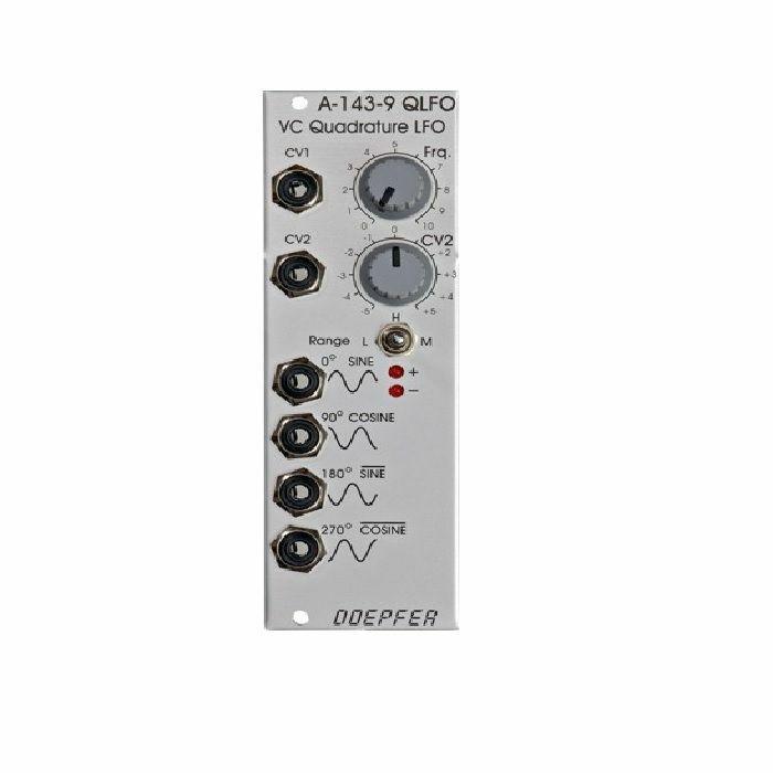 DOEPFER - Doepfer A-143-9 QLFO Voltage Controlled Quadrature LFO & VCO Module