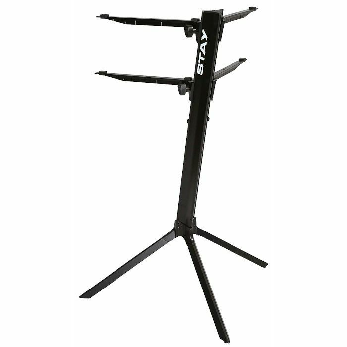 STAY - Stay Slim Curved Two Tier Keyboard Stand (black)