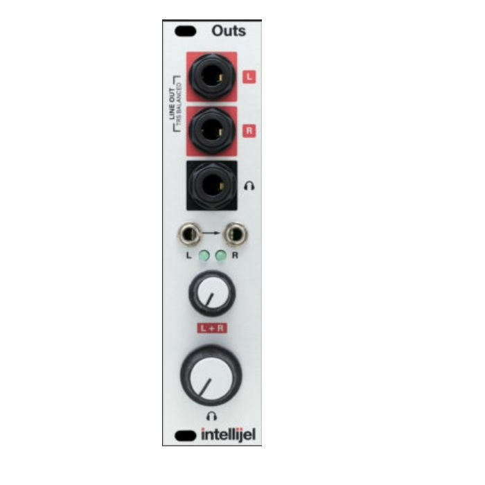 INTELLIJEL - Intellijel Outs 3U Balanced Stereo Line & Headphone Output Module
