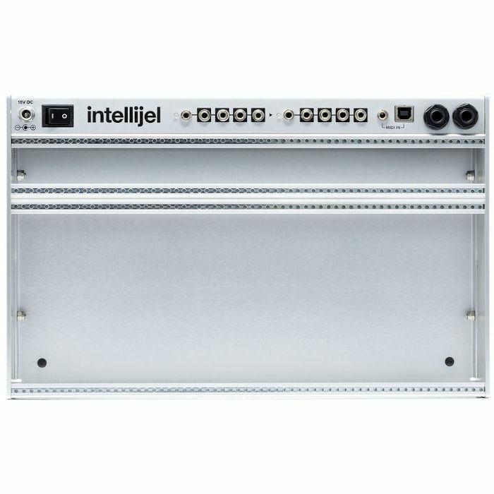 INTELLIJEL - Intellijel Palette 62 4U x 62HP Powered Eurorack Case With 40W Meanwell PSU Adapter & MIDI Adapter Cable (silver)