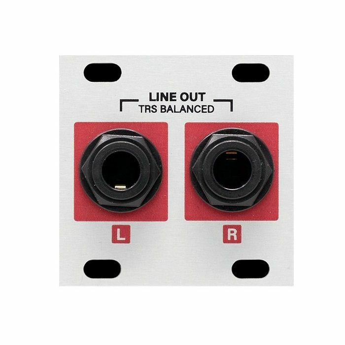 INTELLIJEL - Intellijel Stereo Out Jacks 1U Balanced Stereo Line Output Module