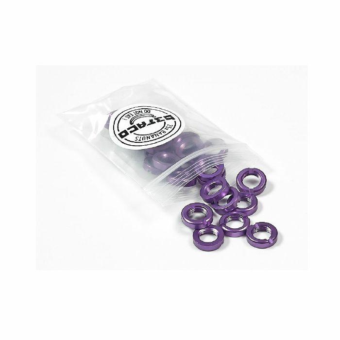BEFACO - Befaco Bananuts Anodised Aluminium Custom Minijack Nuts (purple, pack of 25)
