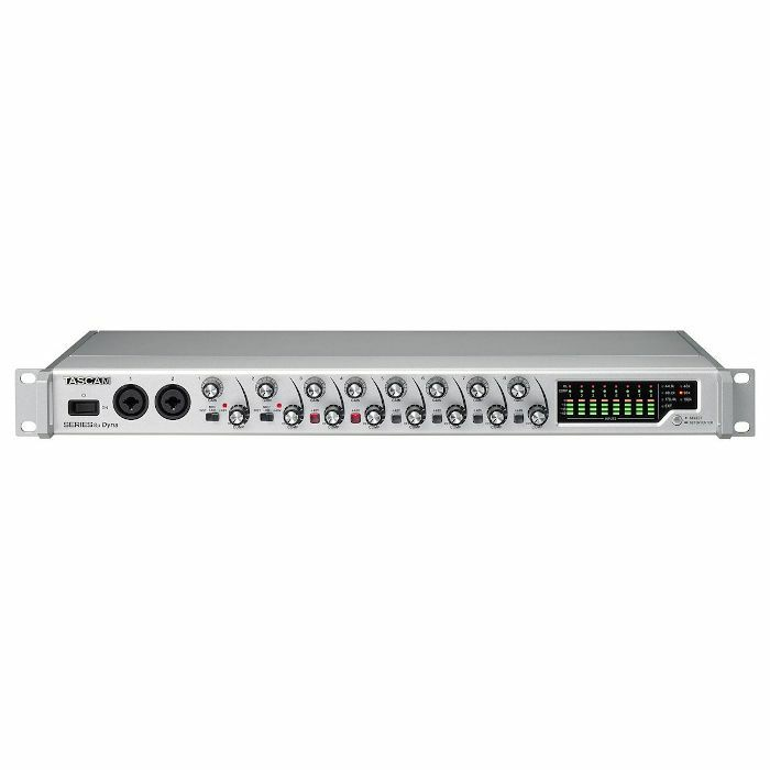 TASCAM - Tascam Series 8p Dyna 8 Channel Microphone Preamp With Analogue Compressor