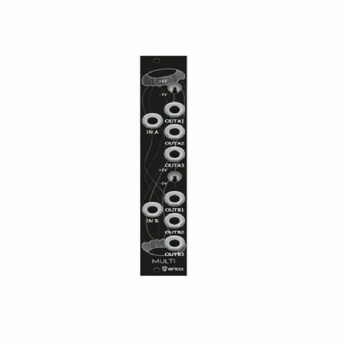 ERICA SYNTHS - Erica Synths Black Multi Active Buffered Multiple Module