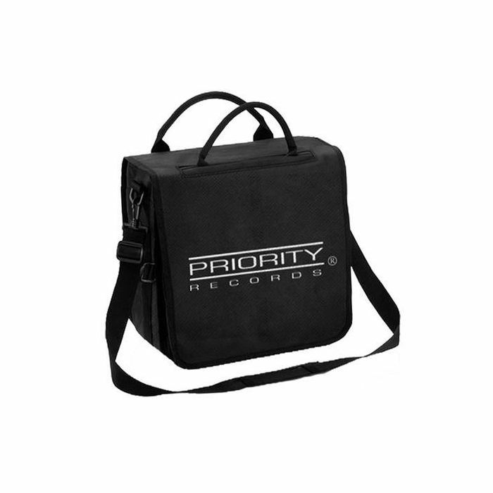 """PRIORITY RECORDS - Priority Records Backpack 12"""" Vinyl Record Bag (holds up to 50 records)"""