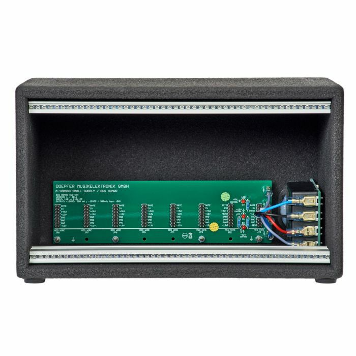 DOEPFER - Doepfer A100 LC1V Low Cost Eurorack Module Case With Integrated Power Supply & Bus Board (vintage edition, 100-240V)
