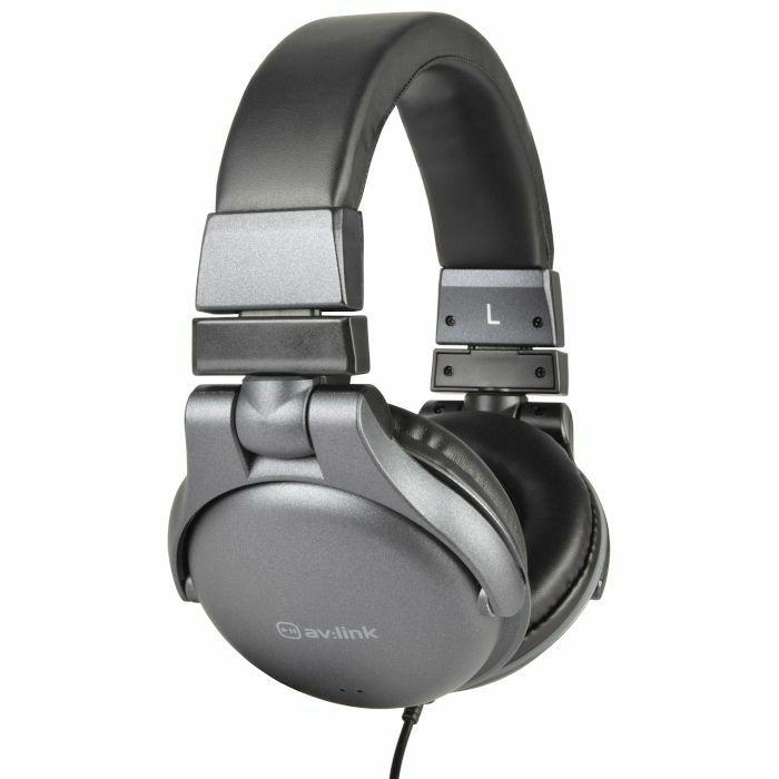 AV LINK - AV Link CSH40VC Headphones With In Line Volume Control