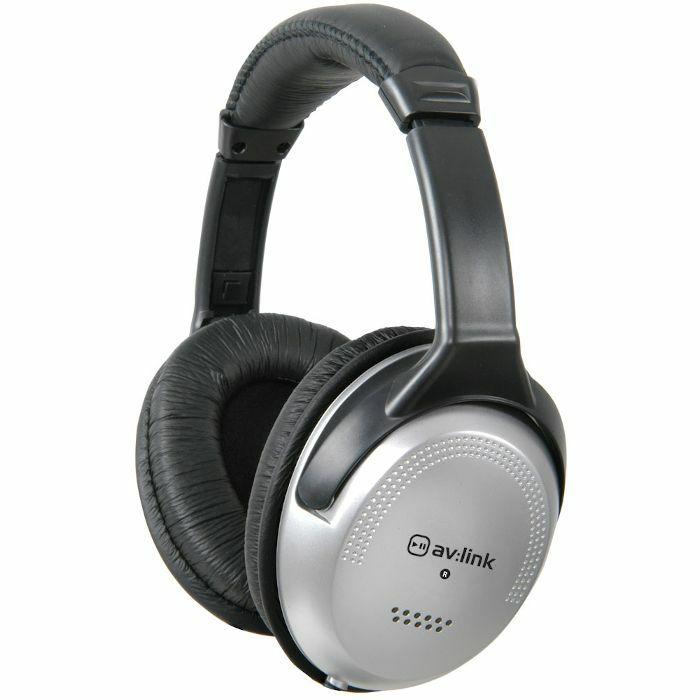 AV LINK - AV Link SH40VC Stereo Headphones With In Line Volume Control