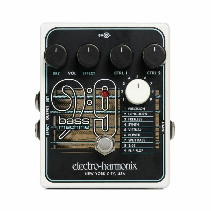 ELECTRO HARMONIX - Electro Harmonix BASS9 Bass Machine Pedal
