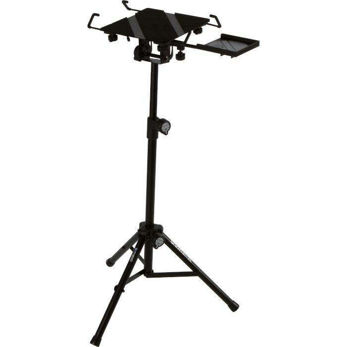QUIKLOK - Quiklok LPH004 Free Standing Tripod Laptop & Tablet Holder Stand