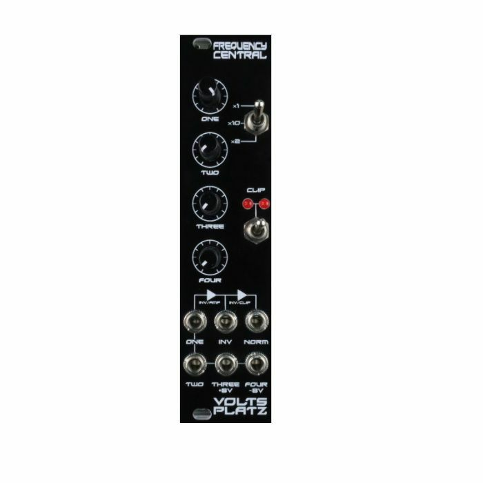 FREQUENCY CENTRAL - Frequency Central Volts Platz 4 Input Mixer Module