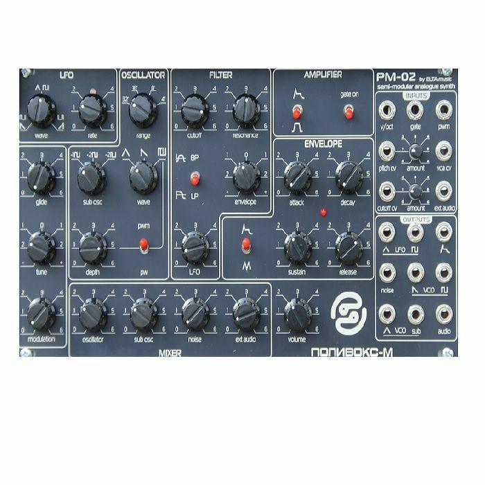 ELTA MUSIC - ELTA Music Polivoks PM-02 Eurorack Synthesiser Voice Module
