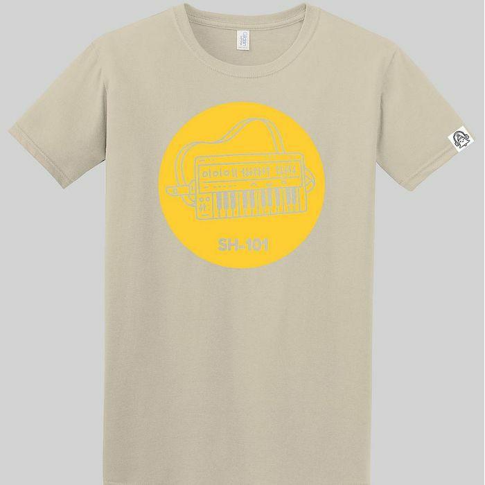 DING DONG - Ding Dong SH101 T Shirt (sand with yellow print, medium)