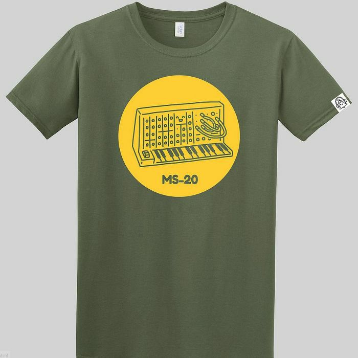 DING DONG - Ding Dong MS20 T Shirt (green with yellow print, large)